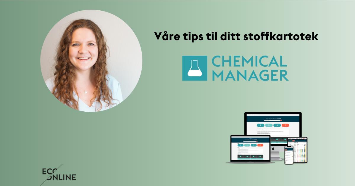 Våre tips til ditt stoffkartotek EcoOnline Chemical Manager (1)